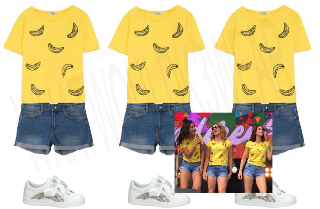 zomer optreden bananen